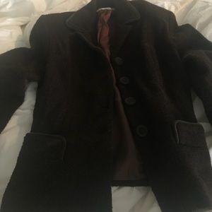 Susie Tompkins brown jacket